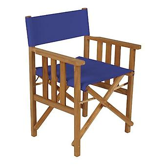 Gardenista® Blue Replacement Directors Chair Canvas Cover