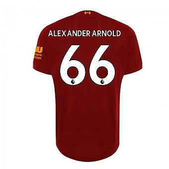 2019-2020 Liverpool Home Football Shirt (Alexander-Arnold 66) - Kids