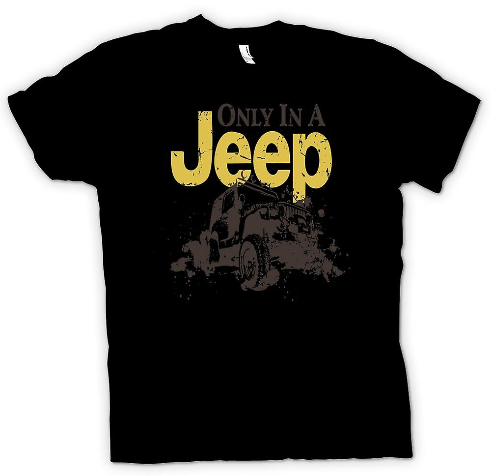 Womens T-shirt - Offroad - Only In A Jeep