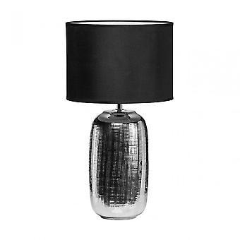 Premier Home Regents Park Table Lamp, Ceramic, Silver