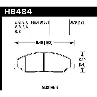 Hawk Performance HB484N.670 HP Plus
