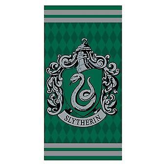 Harry Potter, beach Towel-Slytherin