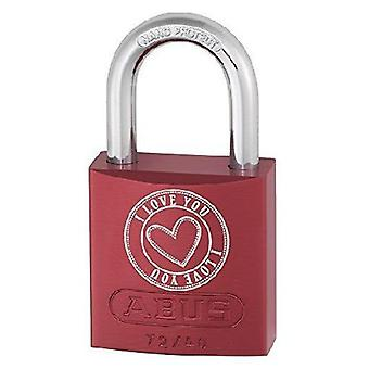 ABUS Aluminum lock Mm 40 72/40 Color Heart Love B (DIY , Hardware)