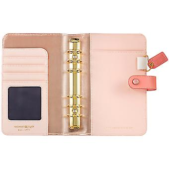 Couleur Crush simili-cuir Personal Planner Kit 5.25
