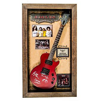 Eagles Signed Guitar Desperado Custom Framed