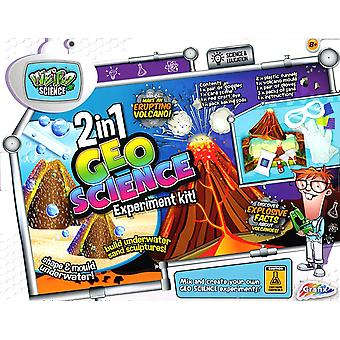 Grafix Weird Science 2in1 Geo Science Experiment Sand & Volcano Educational Kit