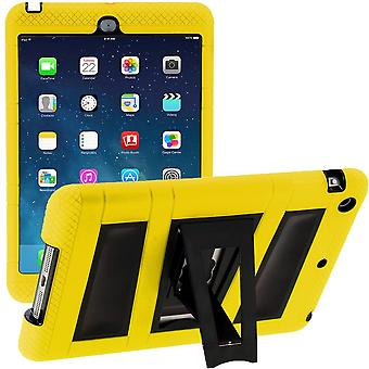 i-Blason Apple iPad Mini with Retina Display Armorbox 2 Case, Apple Mini Built-in Screen Protector-Yellow/Black