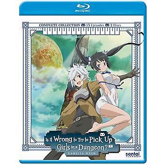 È It Wrong per Pick Up Girls in un'importazione di Dungeon [Blu-ray] Stati Uniti d'America