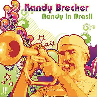 Randy Brecker - Randy i Brasil [CD] USA import