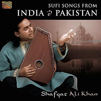 Schacht Ali Khan - Sufi Songs uit India & Pakistan [CD] USA import