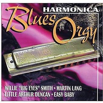 Smith/Lang/Duncan/Easy Baby - mundharmonika Blues orgie [CD] USA importerer