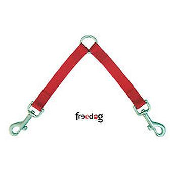 Freedog Marksman Duo XL Nylon Red 10mmx30cm (Dogs , Collars, Leads and Harnesses , Leads)