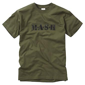 New Printed T-Shirt Mash Retro Tv Show