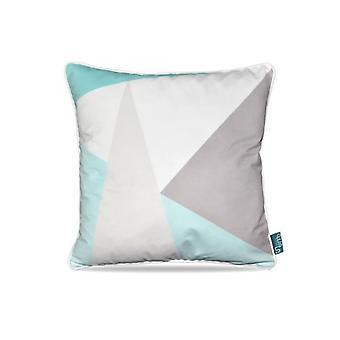 Intimo sierkussen Pastel Corner Shapes Turquoise 45x45 cm