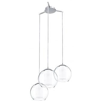 Eglo Bolsano 3 Light Pendant Polished Chrome
