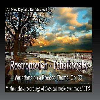 Rostropovitj / Tchaikovosky / Ussr stat Sym Orch - variationer på rokoko tema [CD] USA import