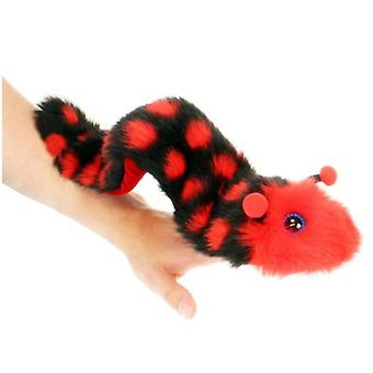 The Puppet Company Caterpillar Puppets Fingers Black And Red