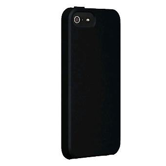Verizon Silicone Cover for Apple iPhone 5 - Black