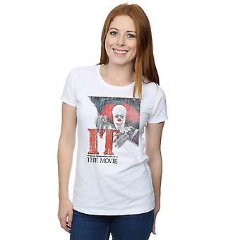 IT Women's Distressed Poster T-Shirt