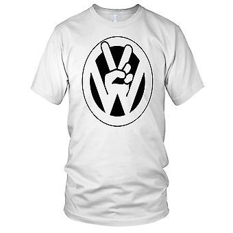 Vingers van de VW - kever Kombi Camper dames T Shirt