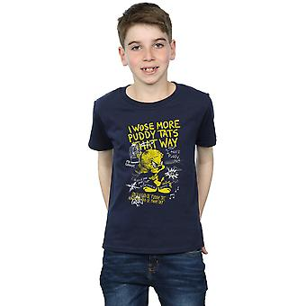 Looney Tunes Boys Tweety Pie More Puddy Tats T-Shirt