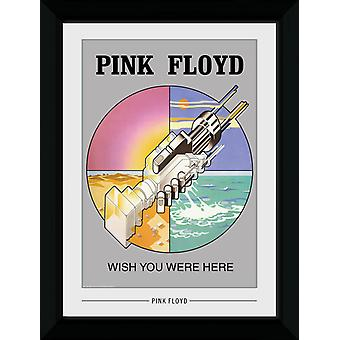 Pink Floyd Wish You Were Here Collector Print 50x70cm