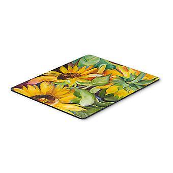 Carolines Treasures  JMK1122MP Sunflowers Mouse Pad, Hot Pad or Trivet