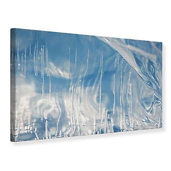 Canvas Print het ijs van het Baikalmeer