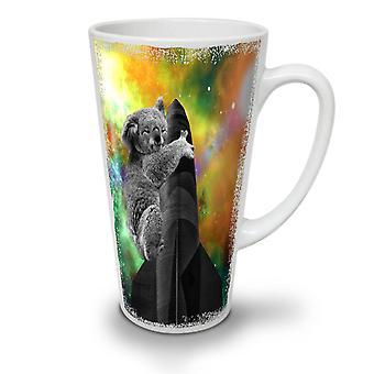 Koala Space Ship NEW White Tea Coffee Ceramic Latte Mug 17 oz | Wellcoda