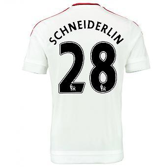 2015-2016 Man Utd Away Shirt (Schneiderlin 28) - Kids