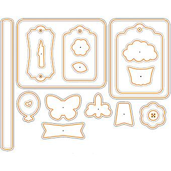 Paper Artist Cutting Die-Celebration Cardmakers Tool Kit HTP5361