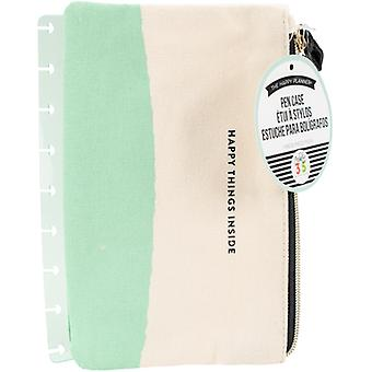 Create 365 Planner Pouch-Happy Things Inside Mint & White PLS01