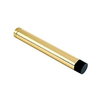 Zoo Door Stop - Cylinder W/o Rose - Solid - Polished Brass - ZAB12