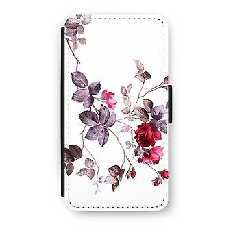 iPhone X Flip Case - pene blomster