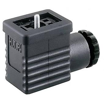 Hirschmann 932 977-100 GM 209 NJ Cable Socket, Freely Configurable Black Number of pins:2 + PE