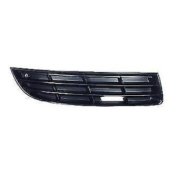 Front Right Bumper Grille (without fog lamp holes) for Volkswagen Passat 2005-2010