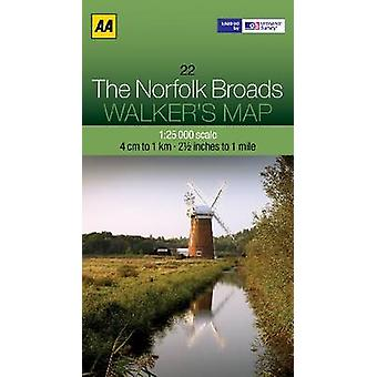 The Norfolk Broads by AA Publishing