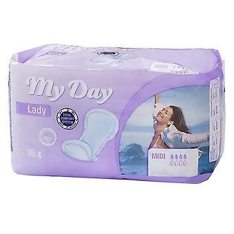 My Day Compresas Incontinencia Midi 10 Units Womens New Bathlines Sealed Boxed