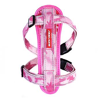 Ezydog Arnés Chest Plate Pink Camu (Dogs , Collars, Leads and Harnesses , Harnesses)