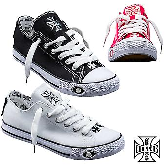 West Coast choppers shoes Warrior low tops