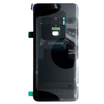 Samsung GH82-15652A battery cover cover for Galaxy S9 plus G965F + adhesive pad black midnight black new