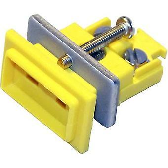 B & B Thermo-Technik Miniature Coupler Socket K-type, Yellow NiCrNi