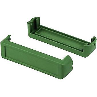 Corner pieces Plastic Green Axxatronic