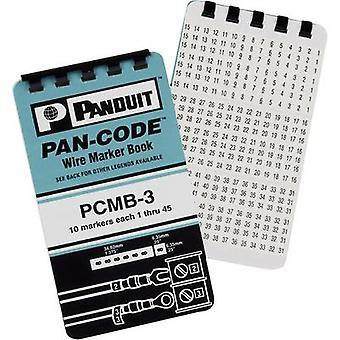 Panduit PCMB-5 zelfklevende marker instellen Impressum A, B, C, +,-PCMB-5