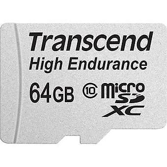 Transcend High Endurance microSDXC card 64 GB Class 10 incl. SD adapter