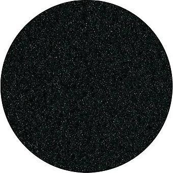 Allungato altoparlante copertina in tessuto nero (L x P) 200 x 75 cm