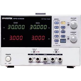 GW Instek Dag-2303S banc PSU (tension réglable) 0 - 30 v CC 0 - 3 A 180 W USB distant no contrôlé des sorties 2 x