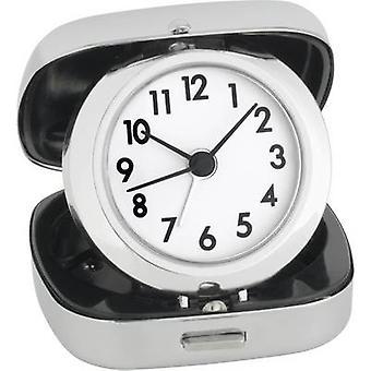 TFA 60-1012 Quartz Alarm clock Silver Alarm times 1