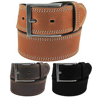 Camel active leather buckle belt 116-106