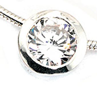 Vedhæng 925 /-s vedhæng sølv zirconium vedhæng 925 sterlingsølv